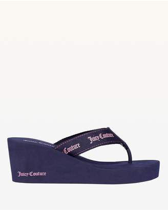 Juicy Couture Regal Naomi Thong Wedge