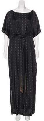 Thomas Wylde Silk Printed Dress w/ Tags