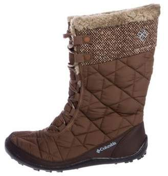 Columbia Round-Toe Snow Boots w/ Tags Brown Round-Toe Snow Boots w/ Tags