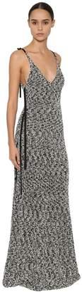 Loewe Long Lurex Knit Dress
