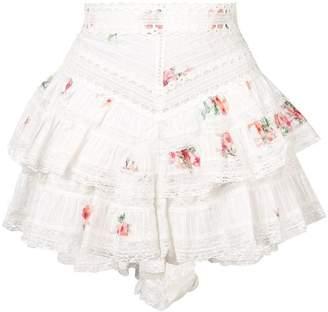 Zimmermann Heathers pintuck shorts