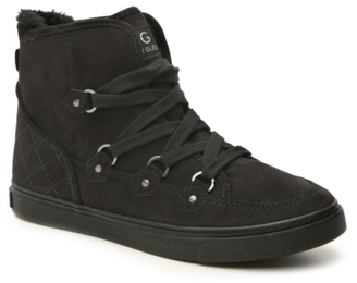 G by GUESS Otter High-Top Sneaker $80 thestylecure.com