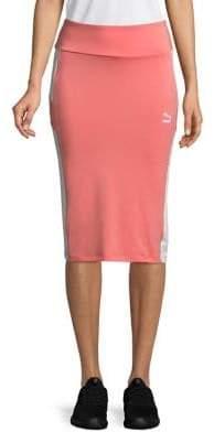 Puma Logo Pencil Skirt