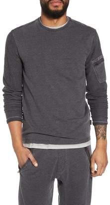 John Varvatos French Terry Crewneck Sweater