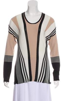 Ohne Titel Textured Long Sleeve Sweater