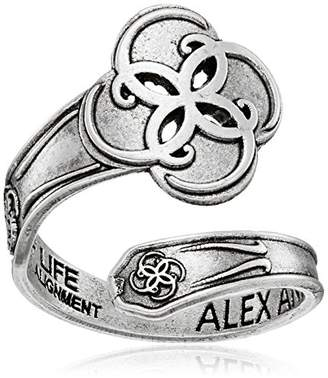 Alex and Ani Spoon Breath of Life Ring