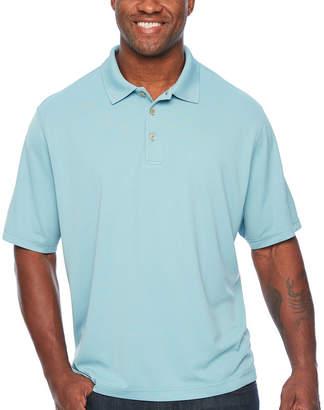 Van Heusen Short Sleeve Knit Polo Shirt Big and Tall