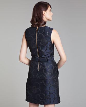 Marni Asymmetric Jacquard Miniskirt