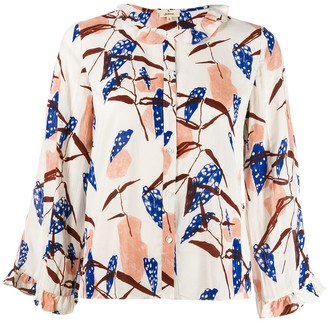 Bellerose floral print straight shirt