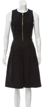 Michael Kors Sleeveless A-line Dress Black Sleeveless A-line Dress
