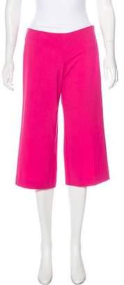 Trina Turk Mid-Rise Wide-Leg Pants w/ Tags