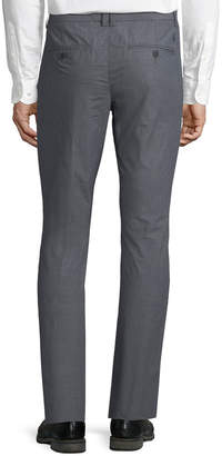 Original Penguin Crosshatch Slub flat-Front Pants