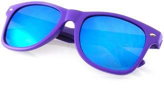 Emblem Eyewear - Trendy Sunglasses Vintage Mirror Lens New Men Women Fashion Frame Retro Cool (, 0)