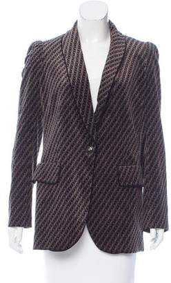 Sonia Rykiel Patterned Shawl-Lapel Blazer