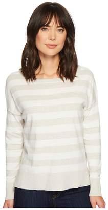 NYDJ Long Sleeve Striped Sweater Women's Sweater