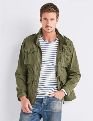 Lucky Brand WAXED M-65 FIELD JACKET