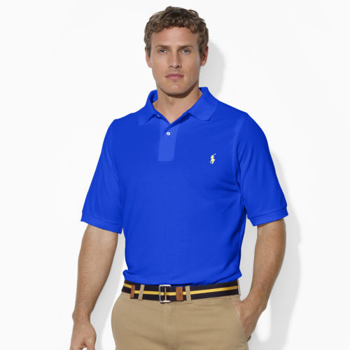 Polo Ralph Lauren Big & Tall Classic-Fit Stretch Mesh Polo