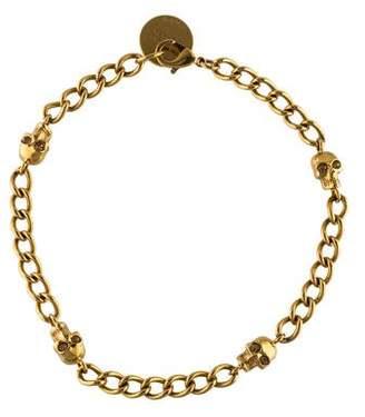 Alexander McQueen Skull Station Necklace