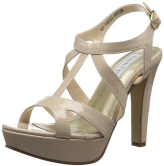 Touch Ups Women's Queenie Synthetic Platform Sandal