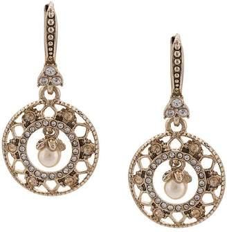 Marchesa pearl embellished earrings