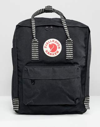Fjallraven Kanken Backpack with Striped Straps 16L