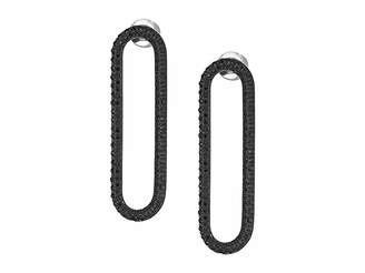 Michael Kors Iconic Pave Single Link Earrings Earring
