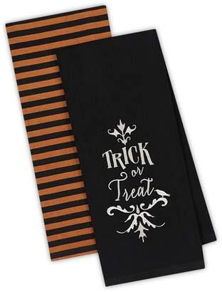 Design Imports Trick or Treat Dishtowels (Set of 2)