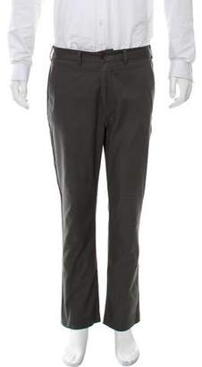Rogan Cropped Flat Front Casual Pants