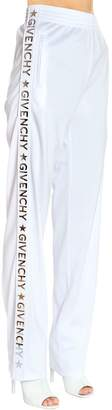 Givenchy Logo Bands Neoprene Jersey Track Pants