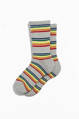 Urban Outfitters Rainbow Heathered Sport Sock