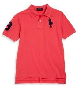 Ralph Lauren Toddler's, Little Boy's& Big Boy's Big Pony Solid Cotton Polo
