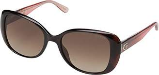 GUESS Women's Gu7554 Square Sunglasses