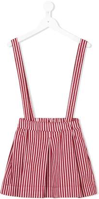 Madson Discount Kids striped dungaree skirt