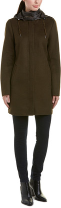 Dawn Levy Elina Wool-Blend Coat