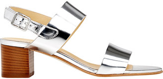 Barneys New York Women's Double-Band Slingback Sandals $285 thestylecure.com