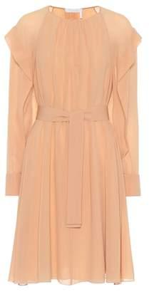 Chloé Belted silk dress