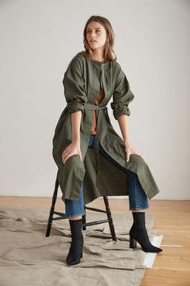 Velvet by Graham & Spencer ADRIAN COTTON CANVAS TRENCH COAT