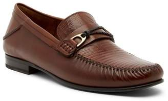 Mezlan Genuine Lizard Moccasin Loafer