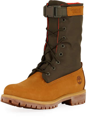 Timberland Men's Premium Gaiter Boot with Canvas Trim