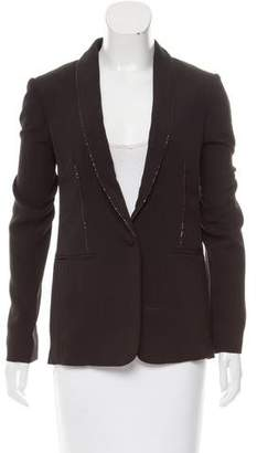 Redemption Structured Chain-Embellished Blazer w/ Tags