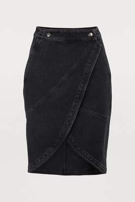 Givenchy Denim short skirt