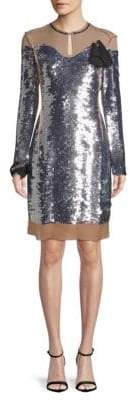 Lanvin Sequined Sheath Dress