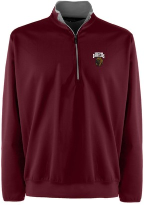 Antigua Men's Montana Grizzlies 1/4-Zip Leader Pullover
