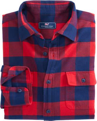 Vineyard Vines Deepwood Knit Lined Shirt Jacket