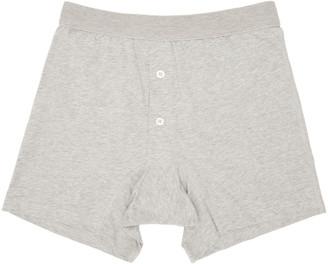 Comme des Garçons Shirt Grey Boxer Briefs $45 thestylecure.com