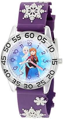 Disney Kids' W002985 Frozen Analog Display Analog Quartz Watch