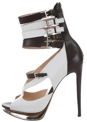 Prabal Gurung Nicholas Kirkwood Platform Leather Pumps