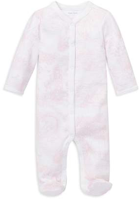 Polo Ralph Lauren Ralph Lauren Childrenswear Girls' Bear-Print Cotton Coverall - Baby