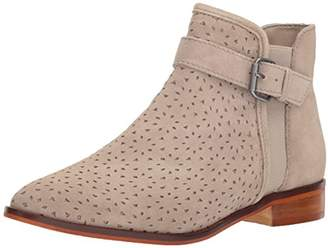Kenneth Cole Reaction Women's Date 2 Nite Flat Ankle Bootie with Perf Details Boot