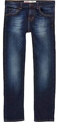 River Island Boys dark blue Levi's skinny fit jeans